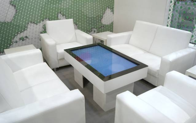 Cebit - interactive table