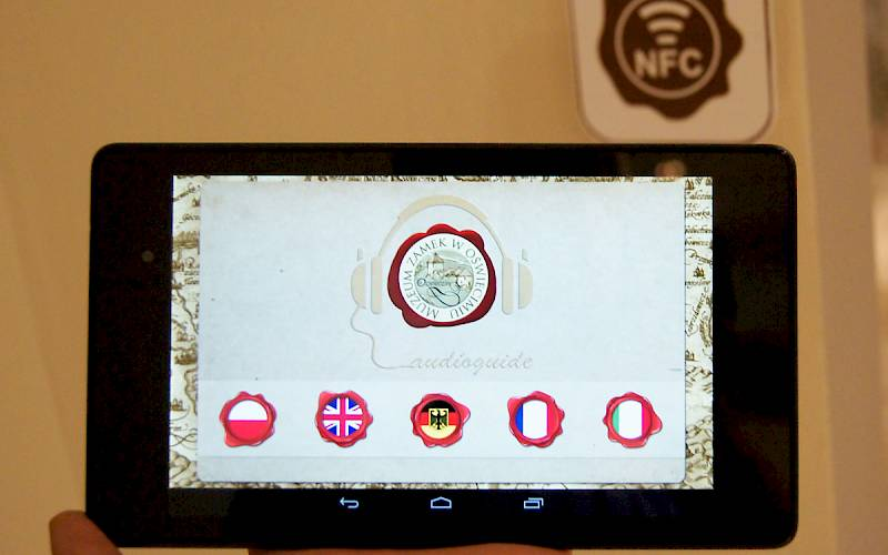 NFC mobile app created for Castle Museum in Oswiecim
