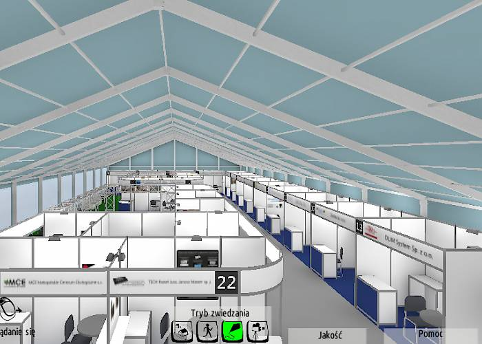 Virtual tour of the exhibition tent - MTI