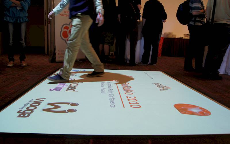 Interactive floor - Euruko