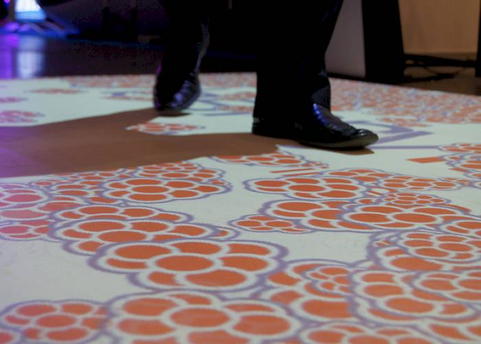 Interactive floor for Semahead