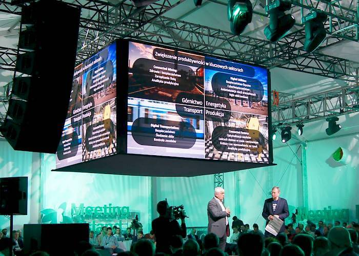 Cisco Forum - HD3 LED screen on stage