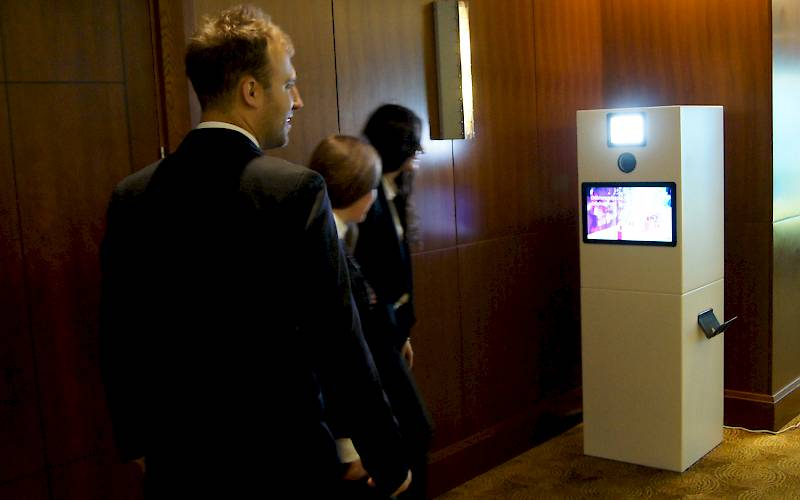 Photo booth on Digital Poland conference