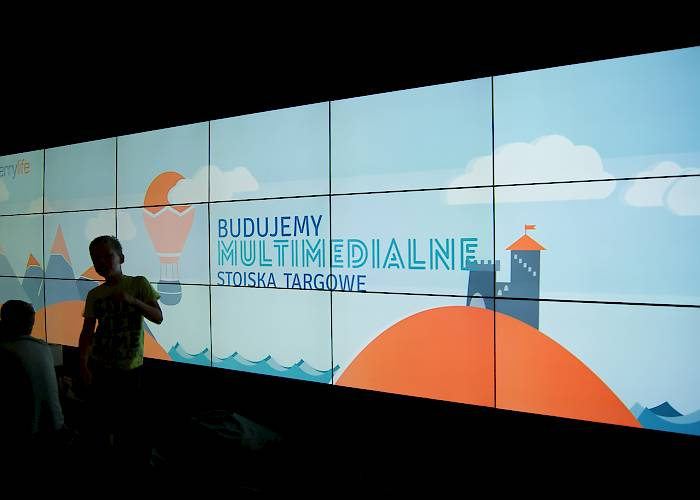 Duckie Deck Kids' Fest - panoramic videowall 6x3