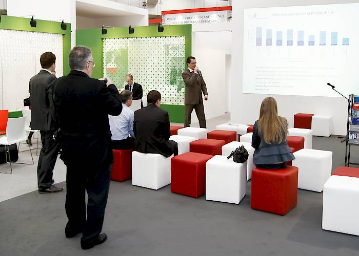 CeBIT - multimedia presentation