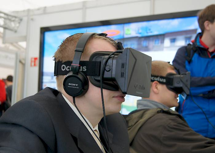 Malopolska Innovation Fair - Oculus Rift
