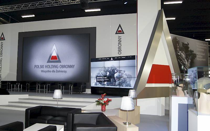 Polish Defence Holding - multimedia service at the conference