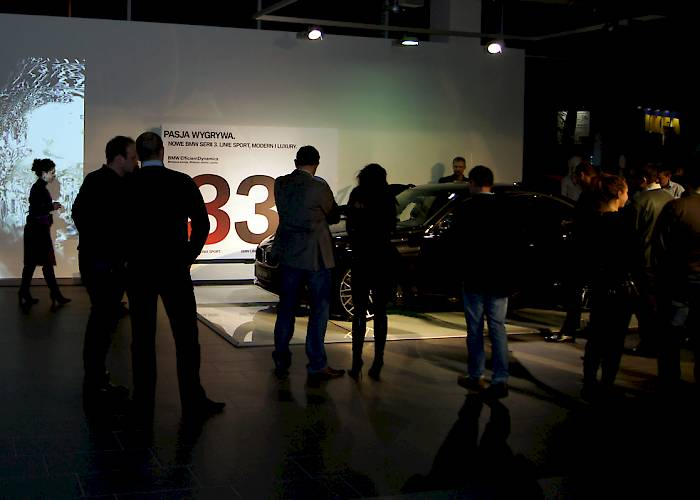 BMW - interactive wall