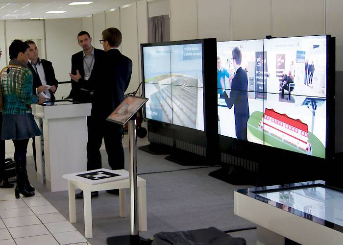 Buildings Modernization Fair - multimedia solutions presentation
