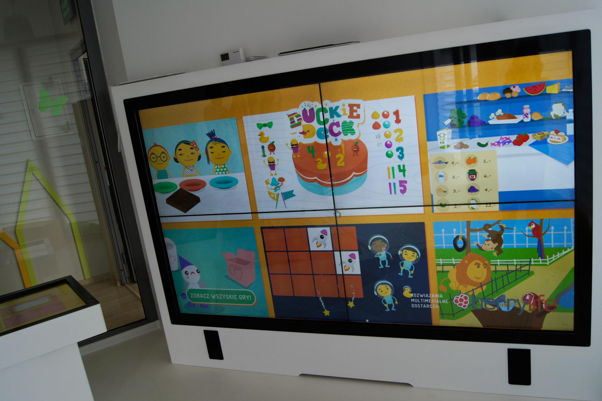 Niewiarygodnie Interaktywne sale dla dzieci BX51