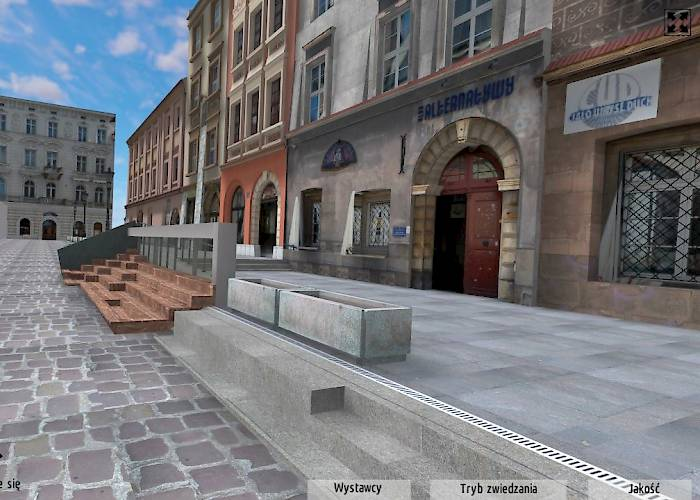 Virtual tour of the Maly Rynek in Cracow - MTI