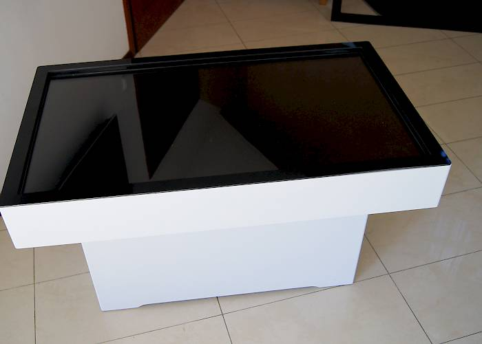 Touchable table - view from above