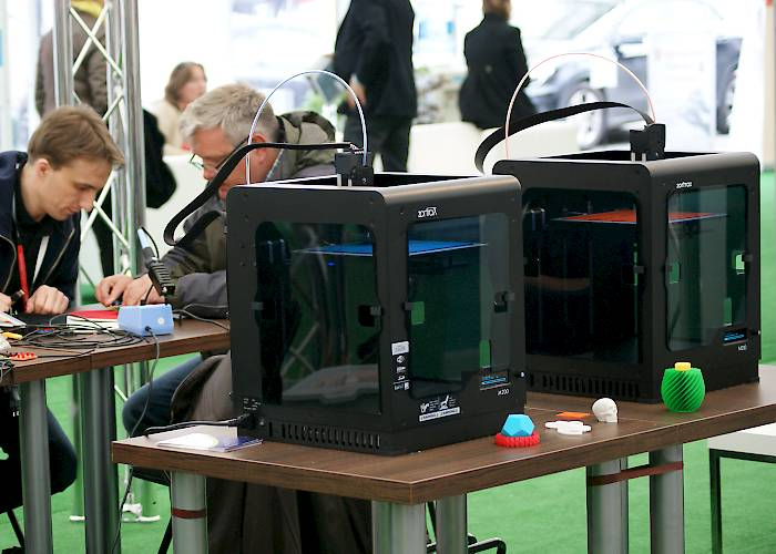 Malopolska Innovation Festival 2015 - MakerSpace with 3D printing