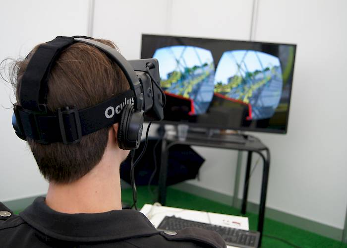 Malopolska Innovation Fair - VR rollercoaster